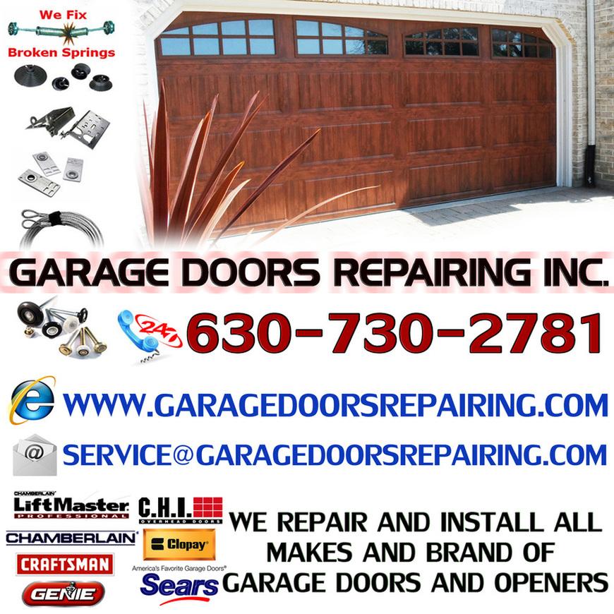 Garage Door Repair Naperville Il   Garage Doors Repairing Inc.  Installation, Repair U0026 Services